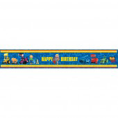 bob the Builder Party Banner - 5 Yards long