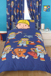 The Builder Single Duvet Cover Set