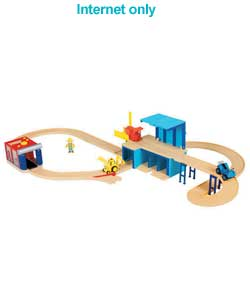 Snap Trax Garage Playset