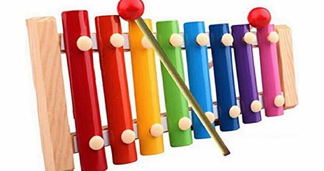 Bocideal TM) Popular Xylophone Musical Toys Wooden for Children Baby