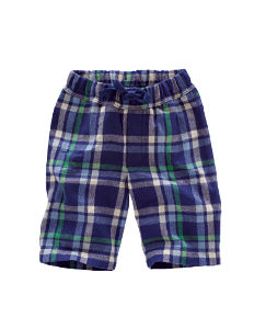 Boden Brushed Tartan Baggies
