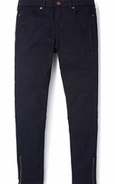 Boden Casual Zip Jeans, Denim,Black,Faded Fatigue