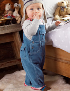 Boden Lined Cord Dungarees