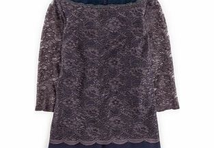Luxurious Lace Top, Blue,Black,Party Green/Navy