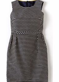 The Smithfield Dress, Navy  Pearl Spot 34167767