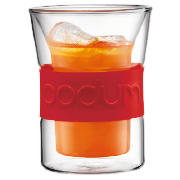 PAIR Presso, double wall, 0.2 l, 6 oz, red