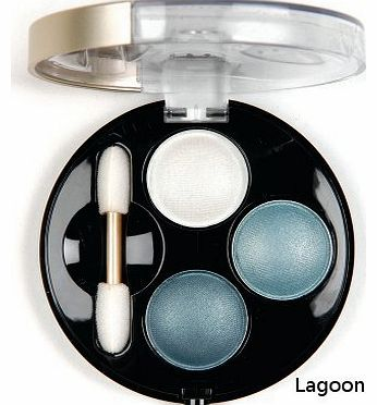 - Sultry Eyes Eyeshadow Dome Trio - Lagoon