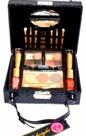Badgequo Body Collection Midnight Square Cosmetics Case Makeup Set