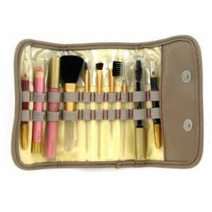 Flawless Make Up and Brushes Gift Set