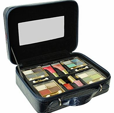 Vanity Case Cosmetic Set Body Collection Make Up Storage Box Travel Beauty 22pc