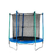 Sculpture 8Ft Trampoline With Enclosure And