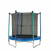 Sculpture 8ft Trampoline with Enclosure