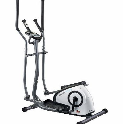 Programmable Magnetic Elliptical - Grey/Black/Silver, 100 x 61 x 160 cm