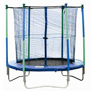 Body Sculpture Trampoline and Safety Enclosure
