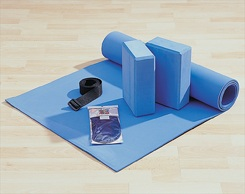 yoga set and video