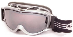 SCREAM GOGGLES - METAL-BLUE AURORA