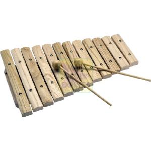 12 Note Wooden Xylophone