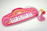 Barbie Electronic Table Top Keyboard with Microphone