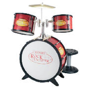 JD5200 Rock 4 Piece Drum Set & Stool