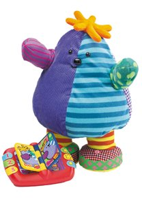 BOO boo read and dance soft toy