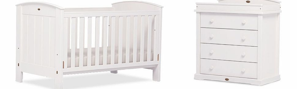Boori 2 Piece Classic Ranch Roomset White