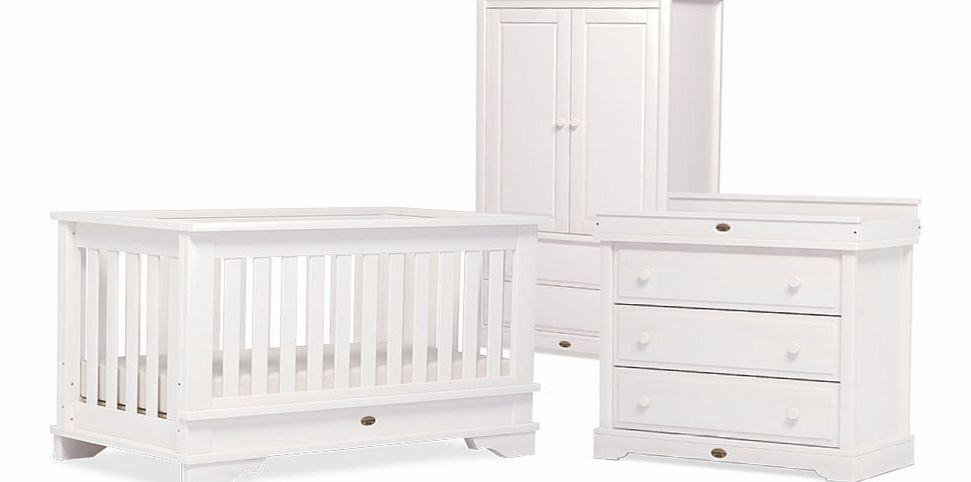 Boori 3 Piece Eton Roomset White