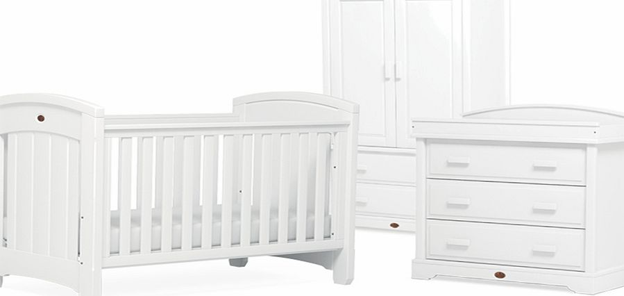 Boori Classic Royale 3 Piece Roomset White