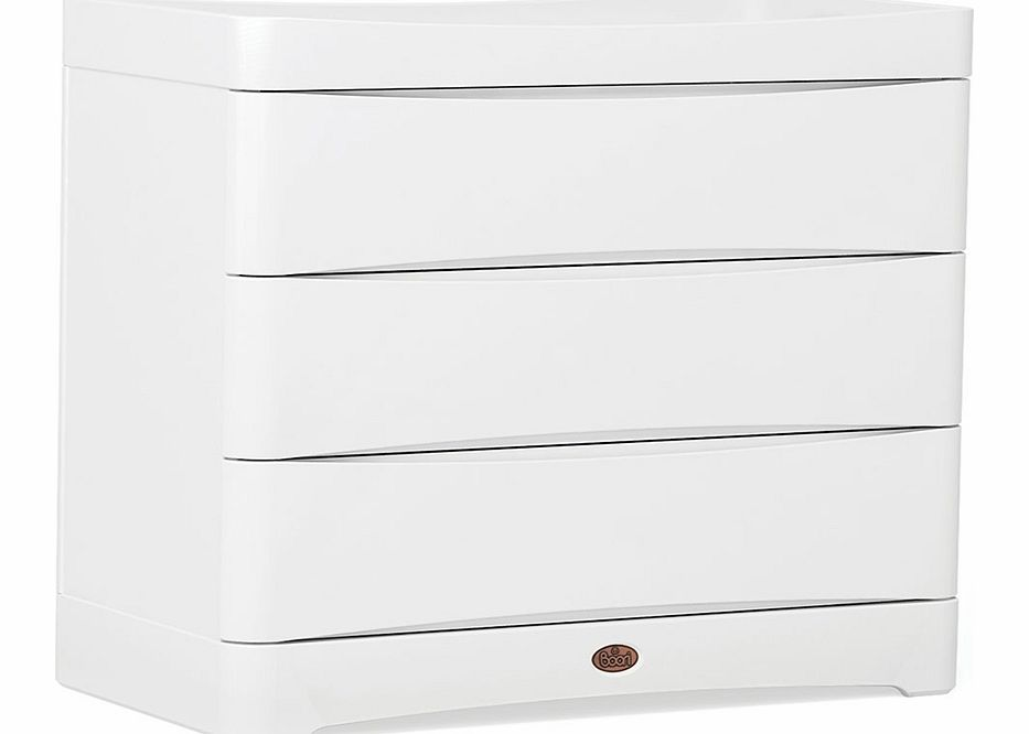 Boori Dawn 3 Drawer Dresser White