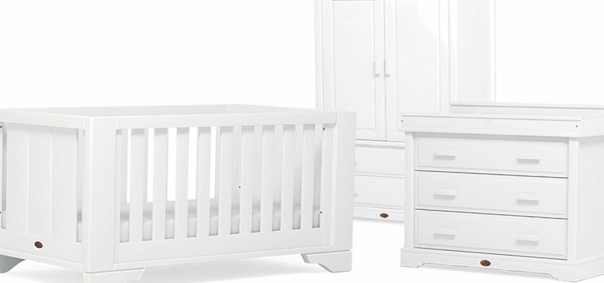 Boori Eton Expandable 3 Piece Roomset White