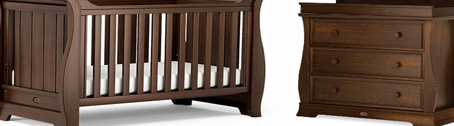 Boori Sleigh 2 Piece Roomset English Oak