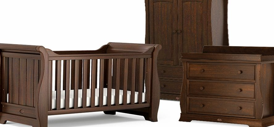 Boori Sleigh 3 Piece Roomset English Oak
