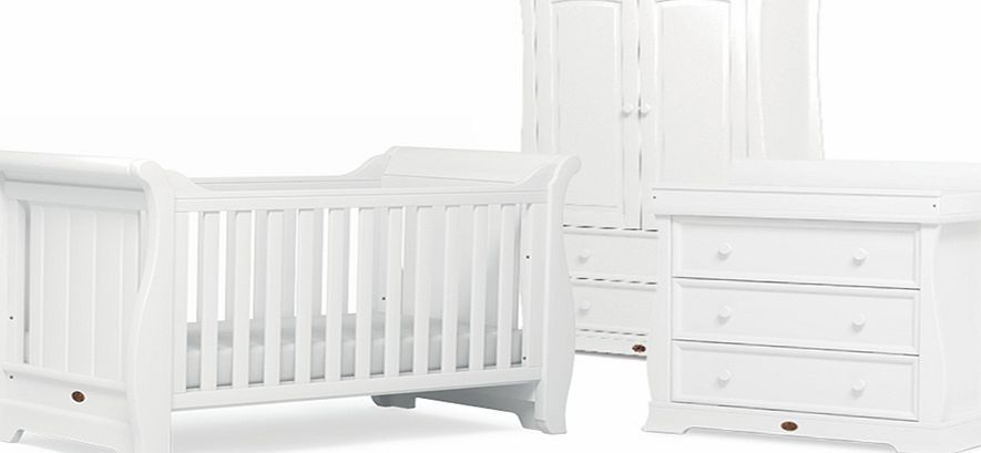 Boori Sleigh 3 Piece Roomset White