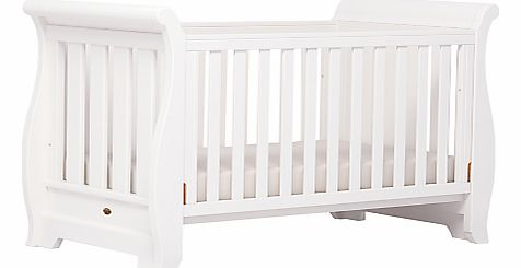Sleigh Cotbed, White