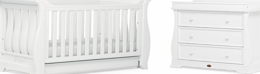Boori Sleigh Royale 2 Piece Roomset White