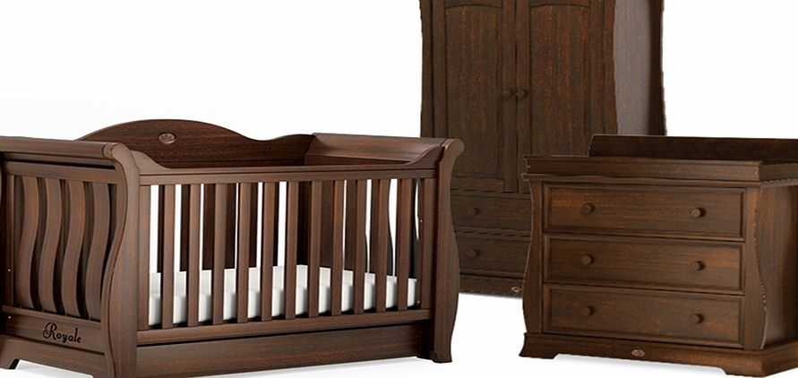 Boori Sleigh Royale 3 Piece Roomset English Oak