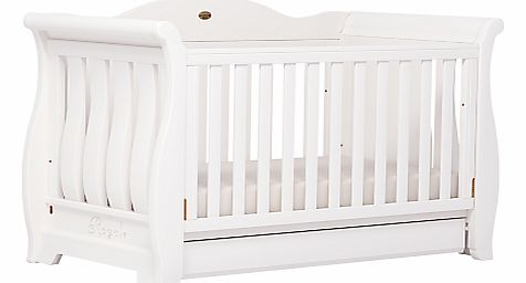 Sleigh Royale Cot/Cotbed, White