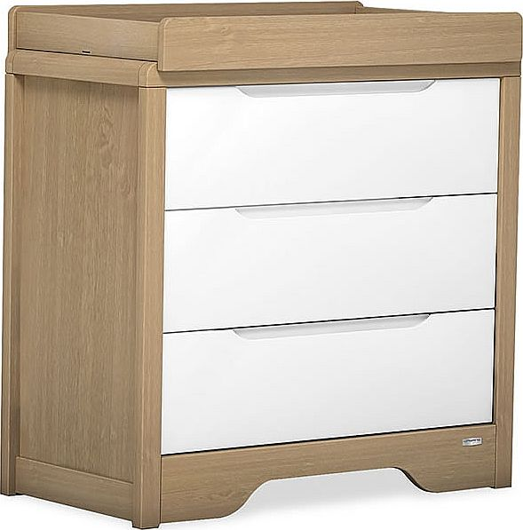 Urbane Deco 3 Drawer Chest Changer-White &