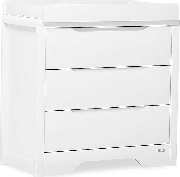 Urbane Deco 3 Drawer Chest Changer-White