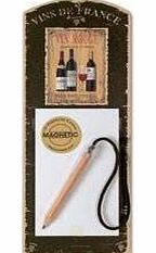Red Wine Magnetic Notepads