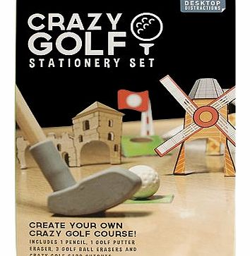 Crazy Golf Stationery Set 10178929