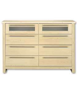 Maple 8 Drawer Chest