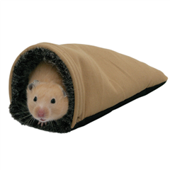 Mini Snuggles Pouch for Hamsters by Boredom Breaker