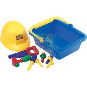 Bob The Builder Carry Along Tool Set and Hat