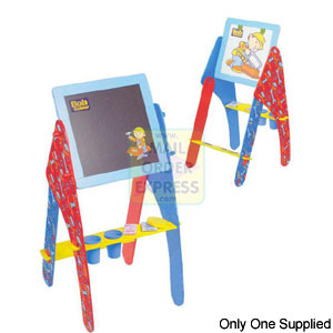 Born To Play Bob the Builder Double Sided Easel