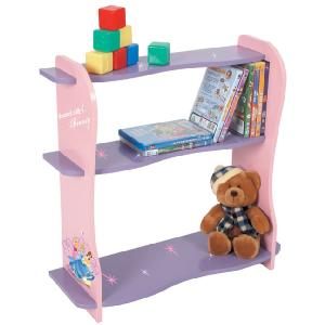 Born To Play Disney Princess Hearts and Crowns Shelving Unit