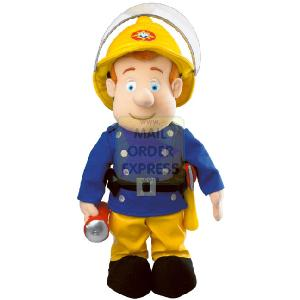 Fireman Sam Soft Toy with Light and Sound