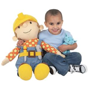 Giant Bob The Builder With Beanie