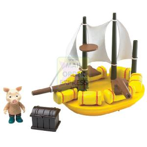 Jakers Boat Bath Toy