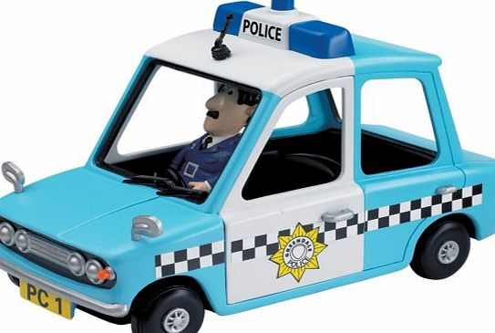 Postman Pat - Friction Police Car & PC Selby figure