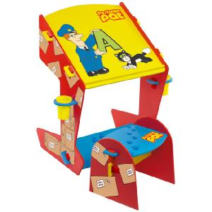 Postman Pat Easel Desk and Stool